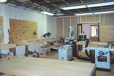 Curtis Prince Woodworking Shop